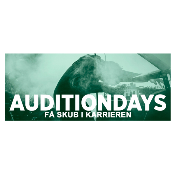AUDITIONDAYS EFTERÅR 2018